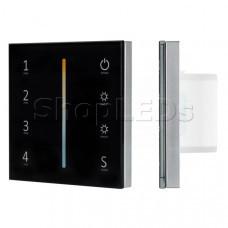 Панель Sens SMART-P43-MIX Black (230V, 4 зоны, 2.4G)