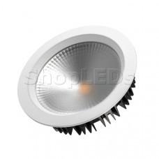 Светодиодный светильник LTD-220WH-FROST-30W White 110deg