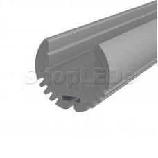 Профиль круглый алюминиевый 17-2 2 м REXANT