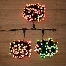 "Гирлянда ""LED ClipLight - МУЛЬТИШАРИКИ"" 24V, 3 нити по 20 метров, RGB, IP54"